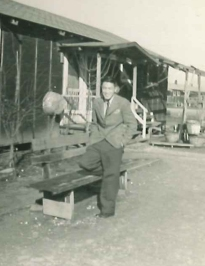 Jim Mikami in Internment Camp